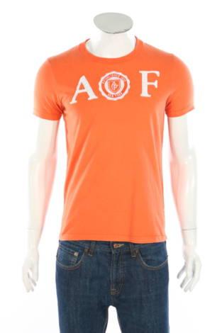 Тениска с щампа Abercrombie & Fitch