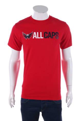 Тениска с щампа Hanes
