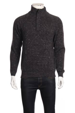 Пуловер с поло яка VINTAGE