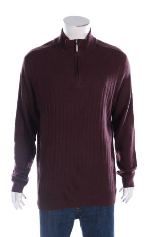 Пуловер с поло яка Geoffrey Beene