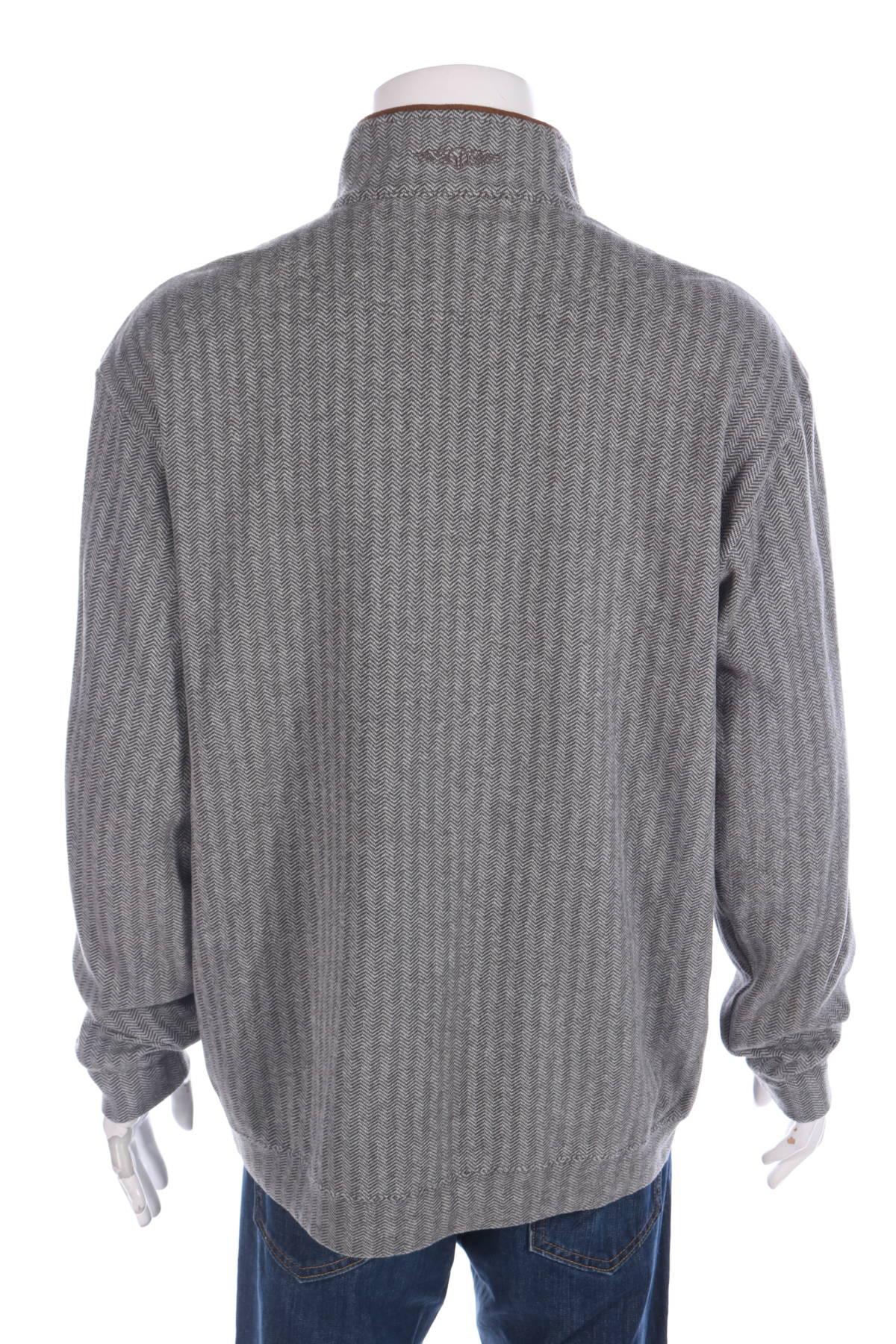 Пуловер с поло яка STRAIGHT DOWN2