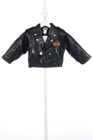 Детско кожено яке Harley Davidson