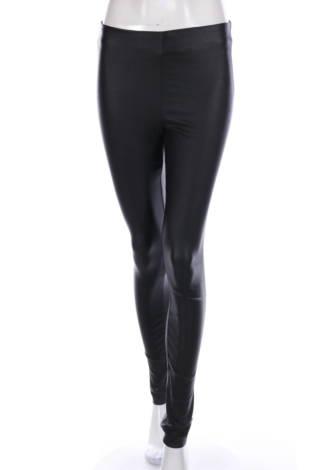 Кожен панталон VILA