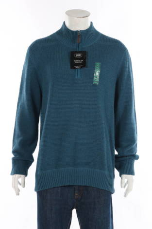Пуловер с поло яка Berkley Jensen