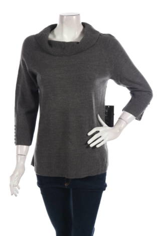 Пуловер с поло яка Debbie Morgan
