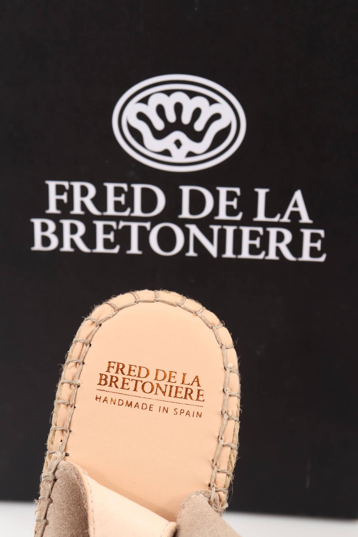 Сандали на ток FRED DE LA BRETONIERE4