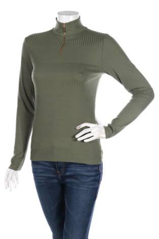 Блуза с поло яка Flat Top