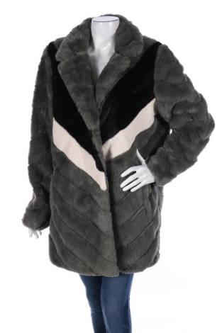 Палто с косъм MAZE