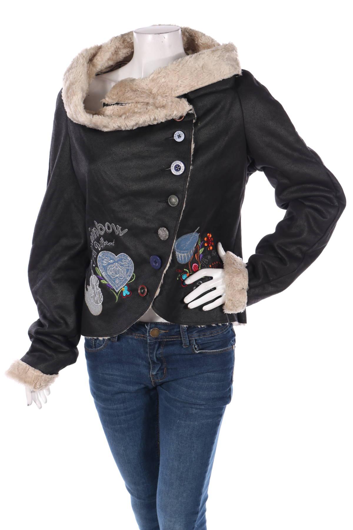 Зимно палто Desigual1