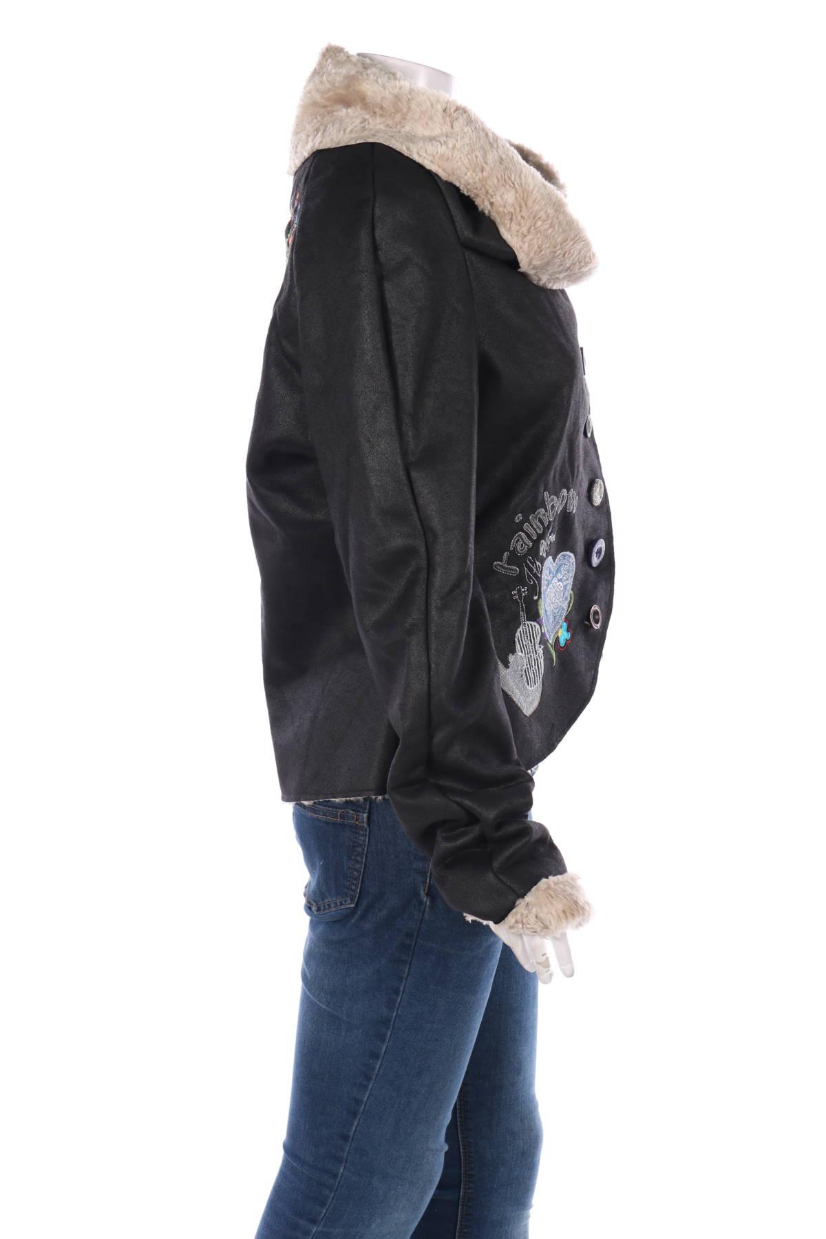 Зимно палто Desigual4