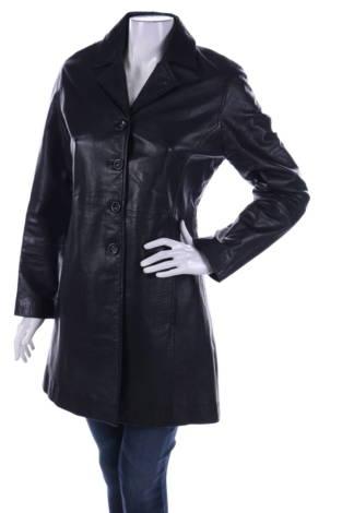 Кожено палто EMMA