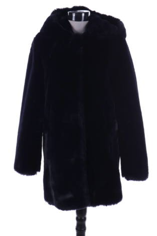 Палто с косъм Sandro