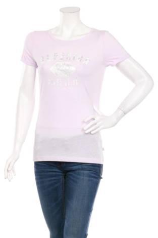 Тениска с щампа Q/S DESIGNED BY S.OLIVER