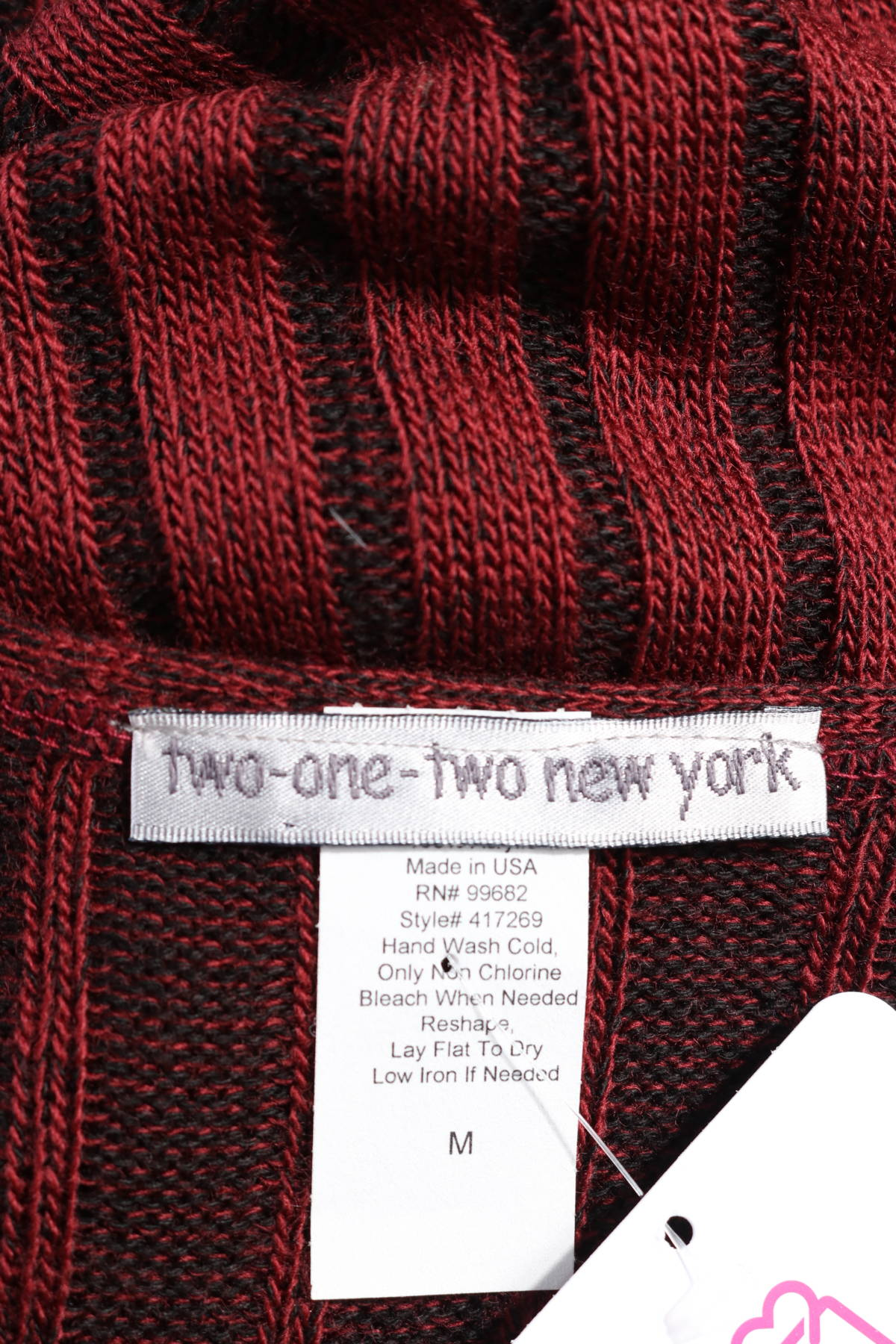 Пуловер TWO-ONE-TWO NEW YORK3