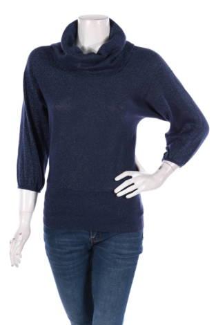 Пуловер с поло яка Style&co.