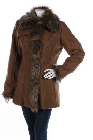 Палто с косъм YESSICA
