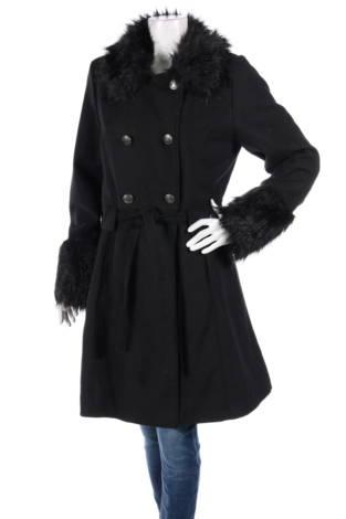 Палто с косъм ANNA FIELD