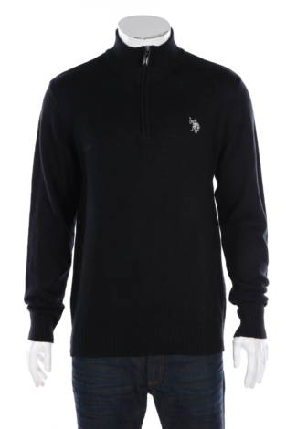 Пуловер с поло яка Us Polo Assn.