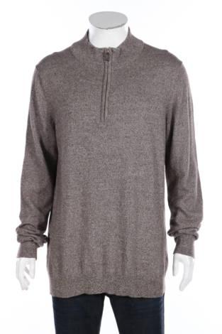 Пуловер с поло яка FOUNDRY