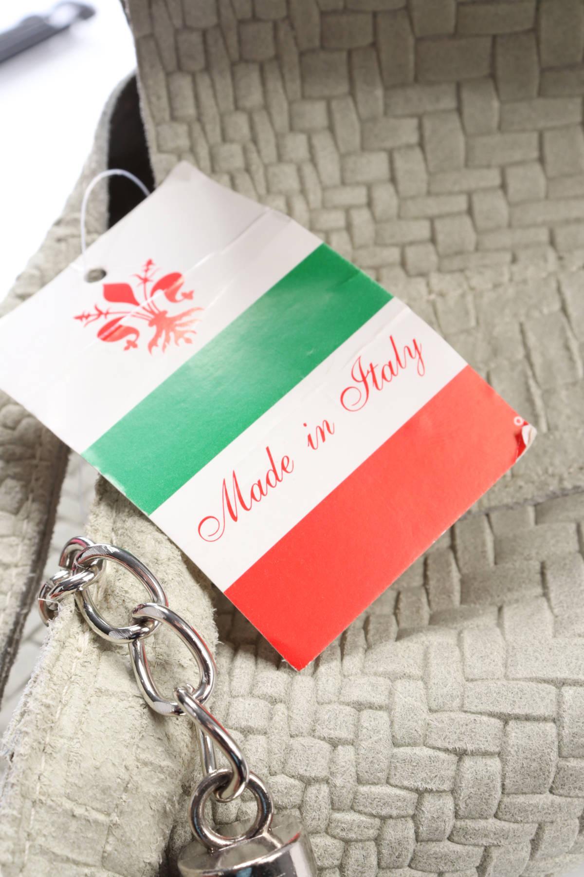 Кожена чанта Made In Italy3