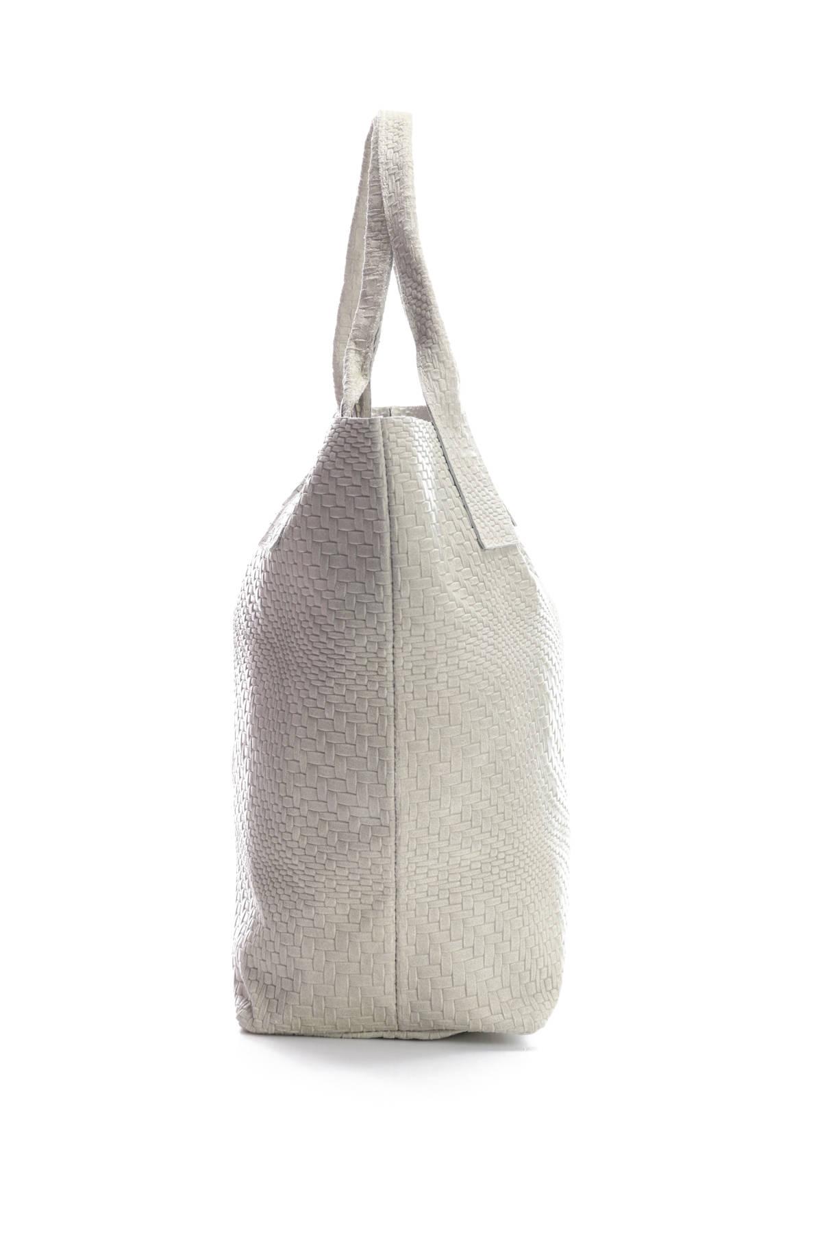 Кожена чанта Made In Italy4