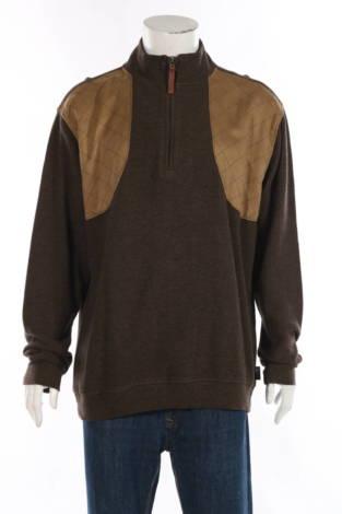 Пуловер с поло яка Woolrich