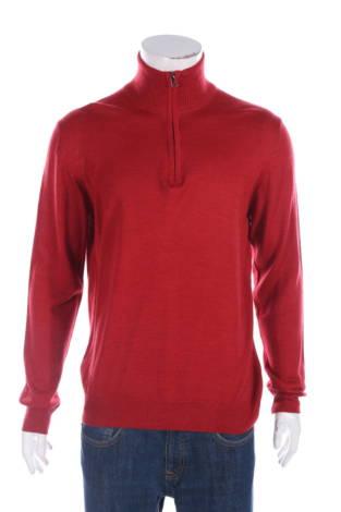 Пуловер с поло яка Luchiano Visconti