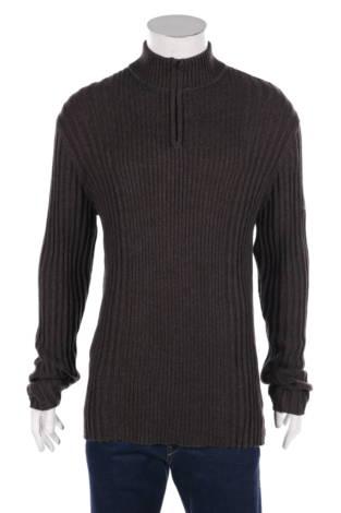 Пуловер с поло яка Dkny Jeans