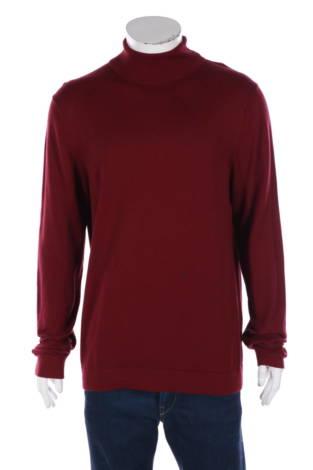 Пуловер с поло яка Only&Sons