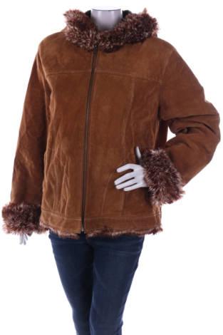 Кожено палто CANVAS