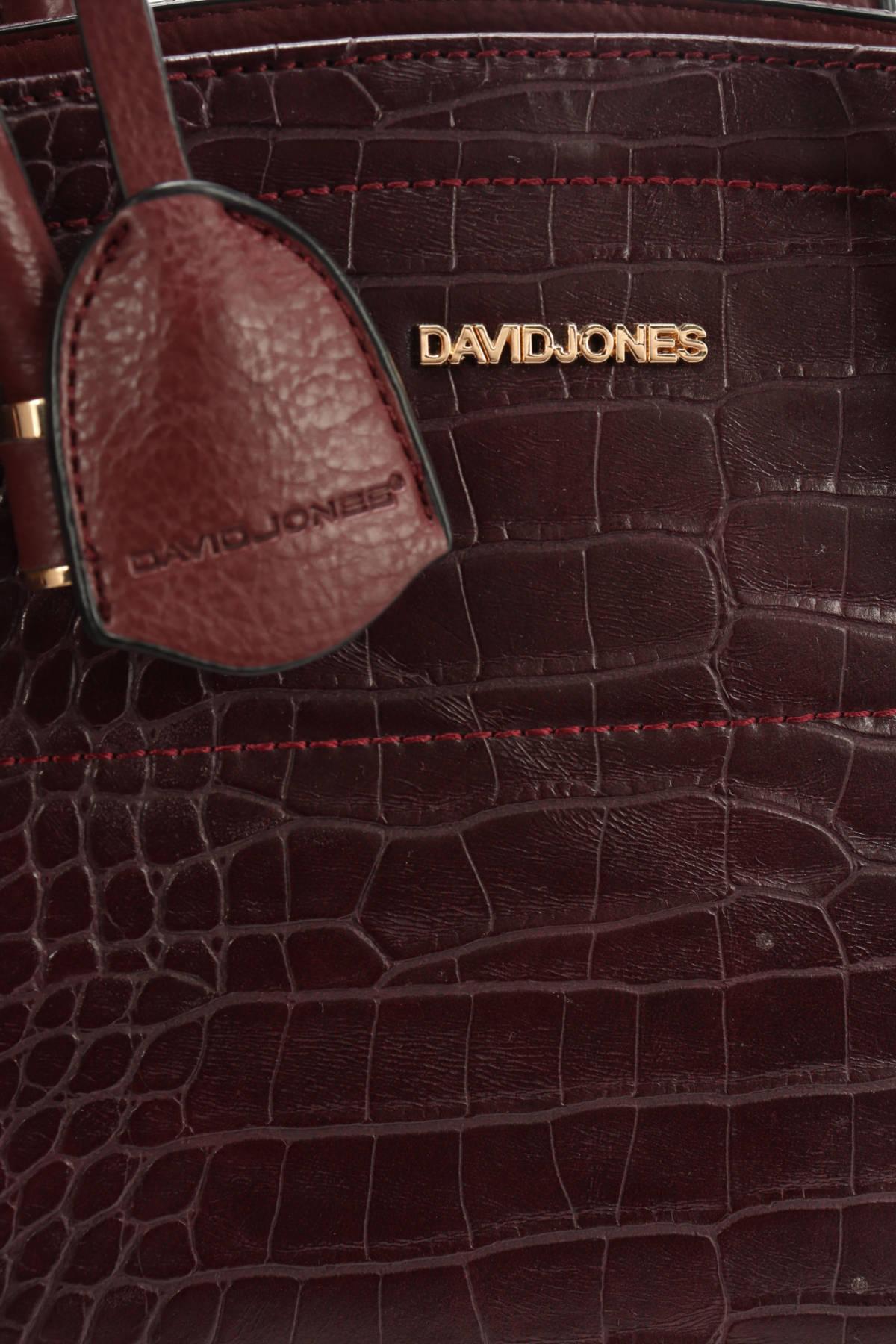 Кожена чанта DAVID JONES4