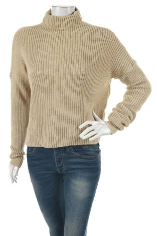 Пуловер с поло яка Prettylittlething