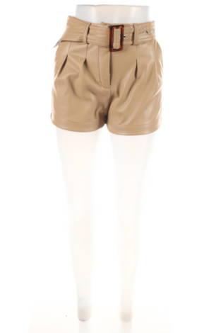 Кожени къси панталони Lost ink