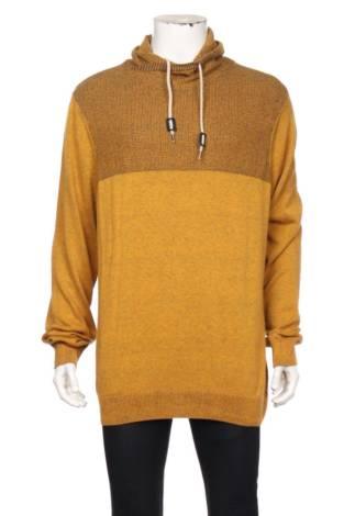 Пуловер с поло яка JEAN PASCALE