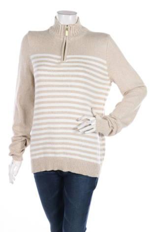 Пуловер с поло яка KAREN SCOTT