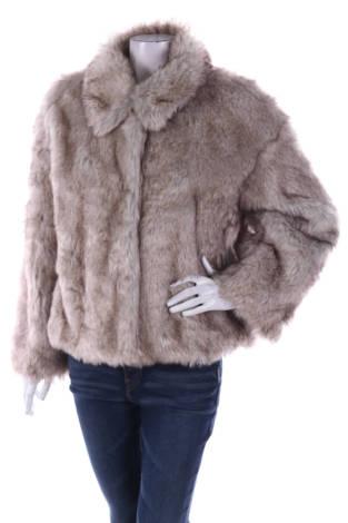 Палто с косъм Zara