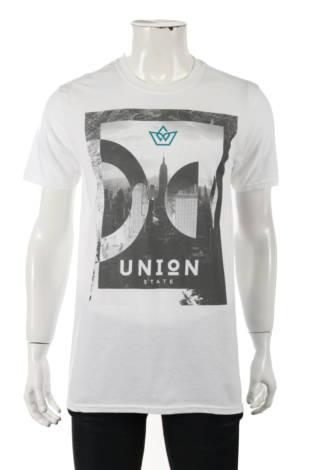 Тениска с щампа UNION