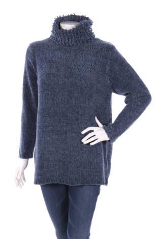 Пуловер с поло яка Newport