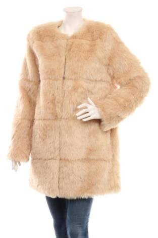 Палто с косъм METAPHOR