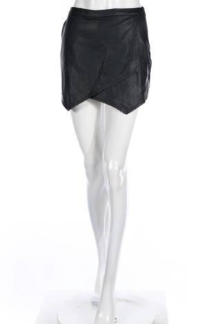 Кожени къси панталони Abercrombie & Fitch