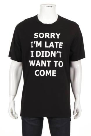 Тениска с щампа SHEIN