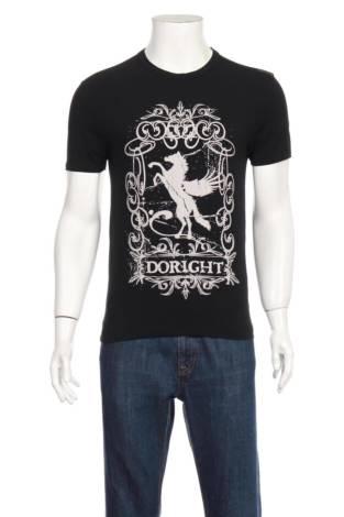 Тениска с щампа DO RIGHT
