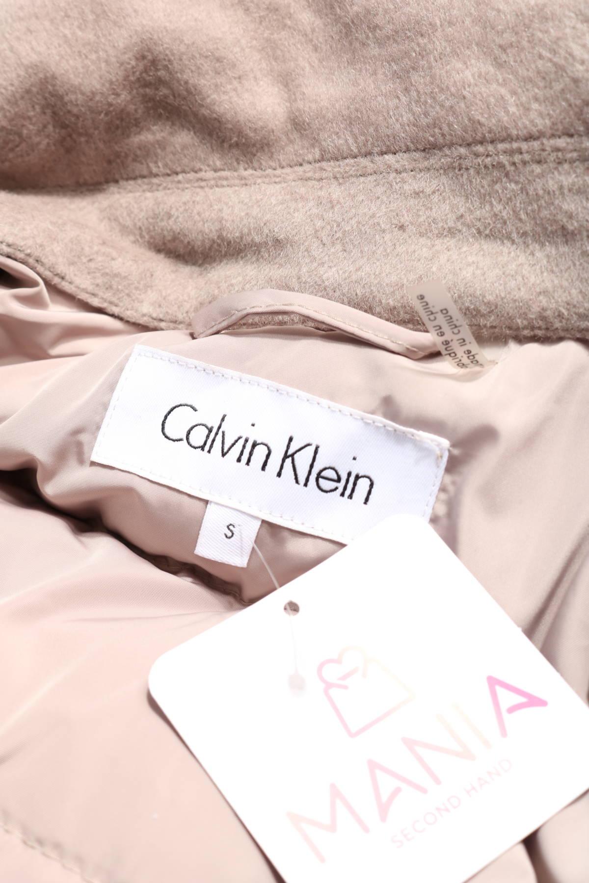 Зимно палто Calvin Klein3