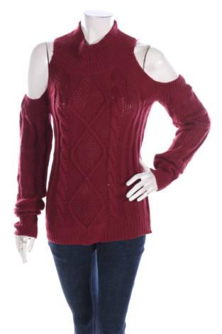 Пуловер с поло яка ELAN