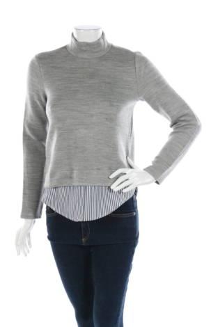 Пуловер с поло яка Montego