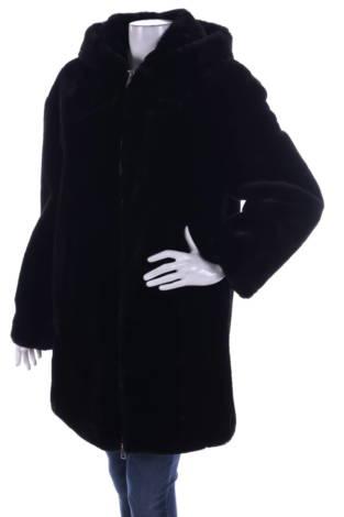Палто с косъм Mango