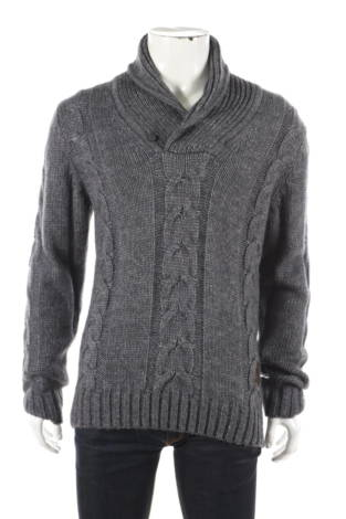 Пуловер с поло яка Otto Kern