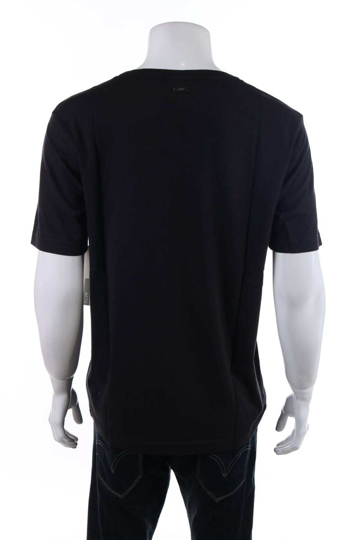 Тениска с щампа Adidas SLVR2