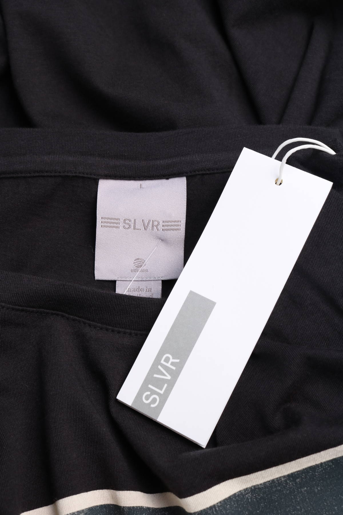 Тениска с щампа Adidas SLVR3