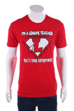 Тениска с щампа Next Level Apparel